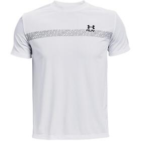 Under Armour Speed Stride Graphic Maglietta a Maniche Corte Uomo, bianco